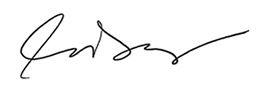 Cathleen O'Daniel Morgan's Signature